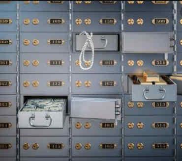 Bankschließfach Volksbank