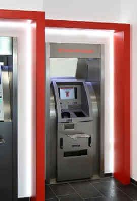 Münzzählautomat Sparkasse