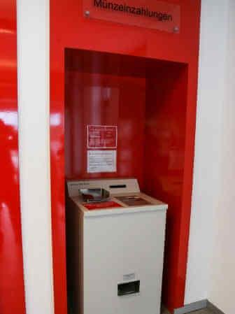 Münzzählautomat