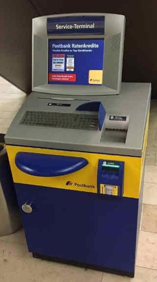 Überweisungslimit postbank terminal